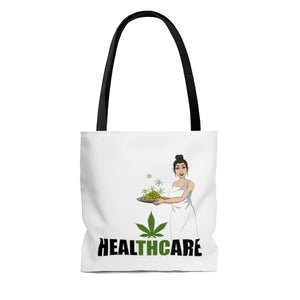 """HealTHCare"" AOP Tote Bag"