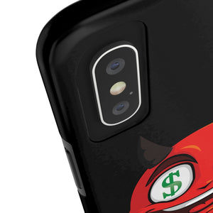Male Dollar Sign Money Mouth Devil Emoji Case Mate Tough Phone Cases by Badmoji Cell Phones & Accessories Cases