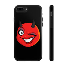Load image into Gallery viewer, Female Winking Devil Emoji Case Mate Tough Phone Cases by Badmoji Cell Phones & Accessories Cases