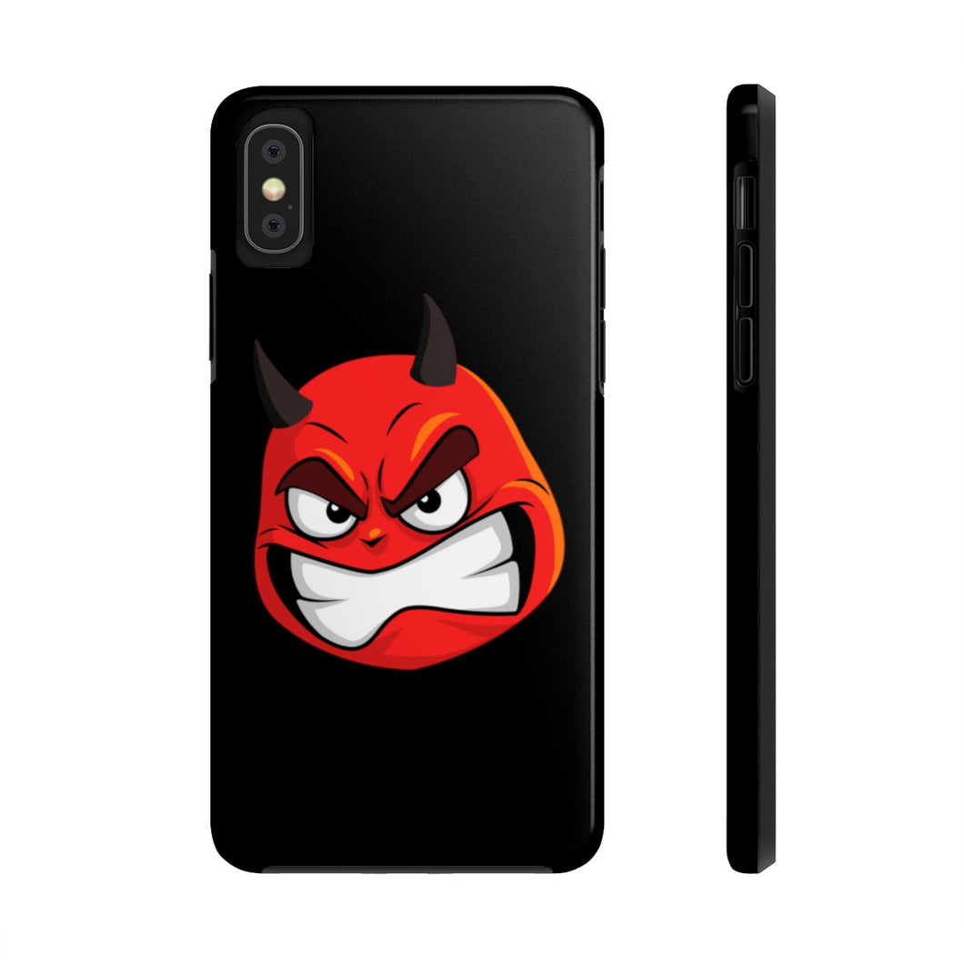 Male Angry Devil Emoji Case Mate Tough Phone Cases by Bigbadmoji Cell Phones & Accessories Cases