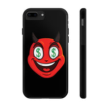 Load image into Gallery viewer, Male Dollar Sign Money Mouth Devil Emoji Case Mate Tough Phone Cases by Badmoji Cell Phones & Accessories Cases