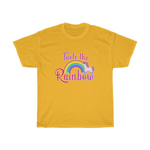 """Taste the Rainbow"" Heavy Cotton T-shirt 