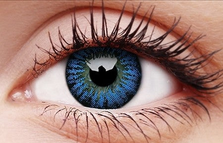 Bigeyes Cool Blue 15mm Colored Contact Lenses Colourvuelenses Com