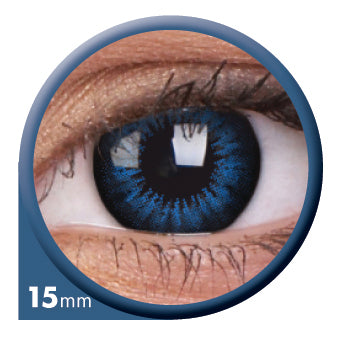 ColourVUE Cool Blue contact lenses