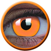 Glow Orange Party Lenses