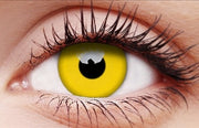 Glow Yellow Party Lenses