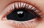 Sclera Sabretooth Black Contact Lenses 22mm