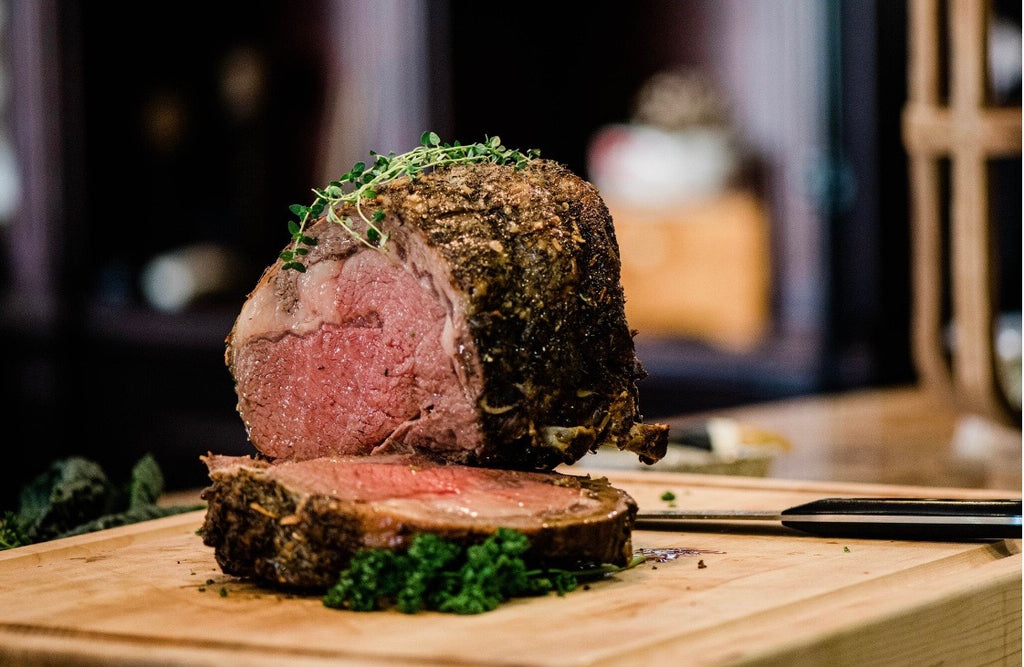 Salt Crusted Prime Rib