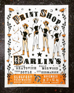 New Exhibition: PRINT SHOP DARLIN'S