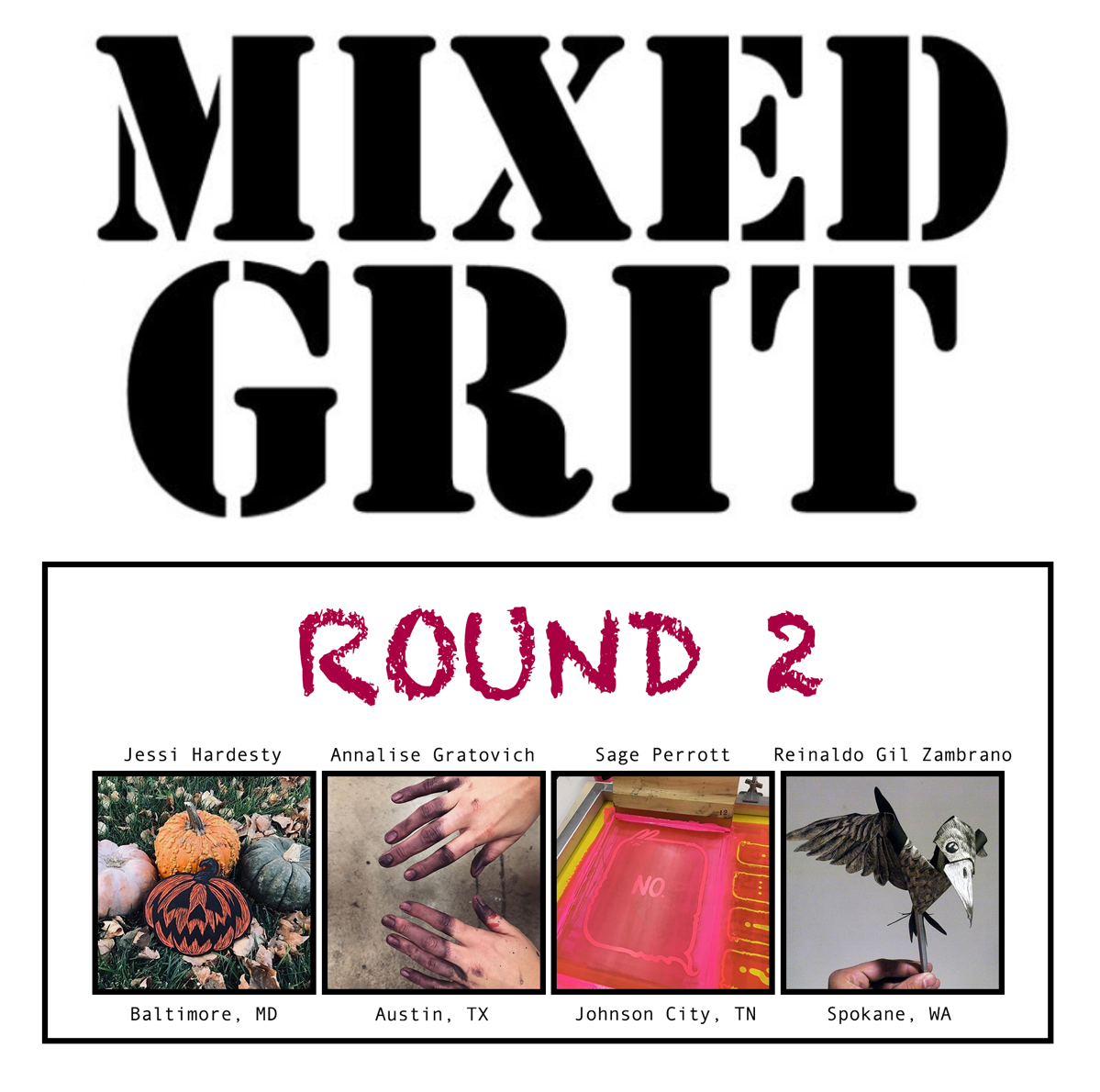 New Publication with Gregory Santos's Mixed Grit