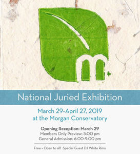 New Exhibition: National Juried Exhibition at the Morgan Paper Conservatory