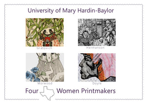 New Exhibition: Four Texas Women Printmakers at the University of Mary Hardin Baylor