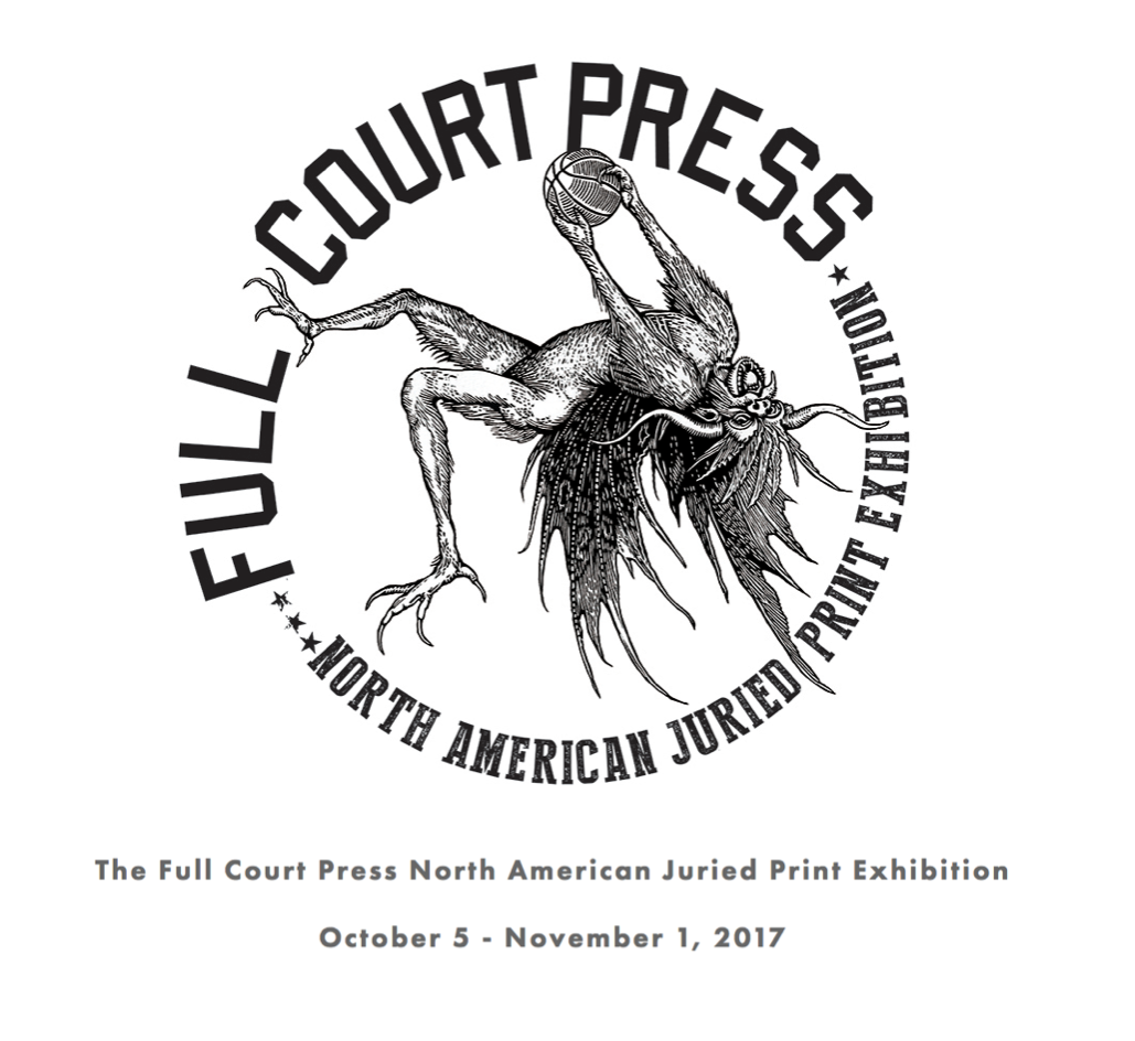 Visiting Artist at Full Court Press Print Symposium