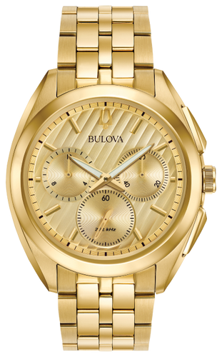 watches bulova curv 97a125