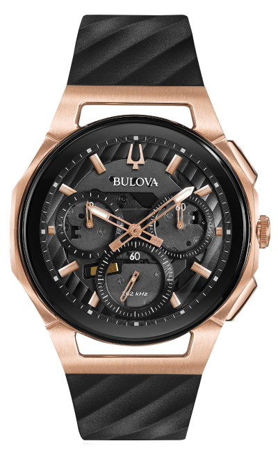 watches bulova curv 98a185
