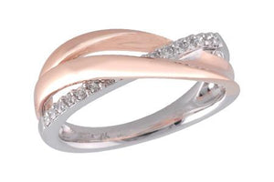 14KT Gold Ladies Diamond Ring - A027-78056_T
