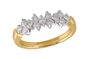 14KT Gold Ladies Wedding Ring - A120-52574_T