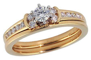 14KT Gold Two-Piece Wedding Set - A211-41692_Y