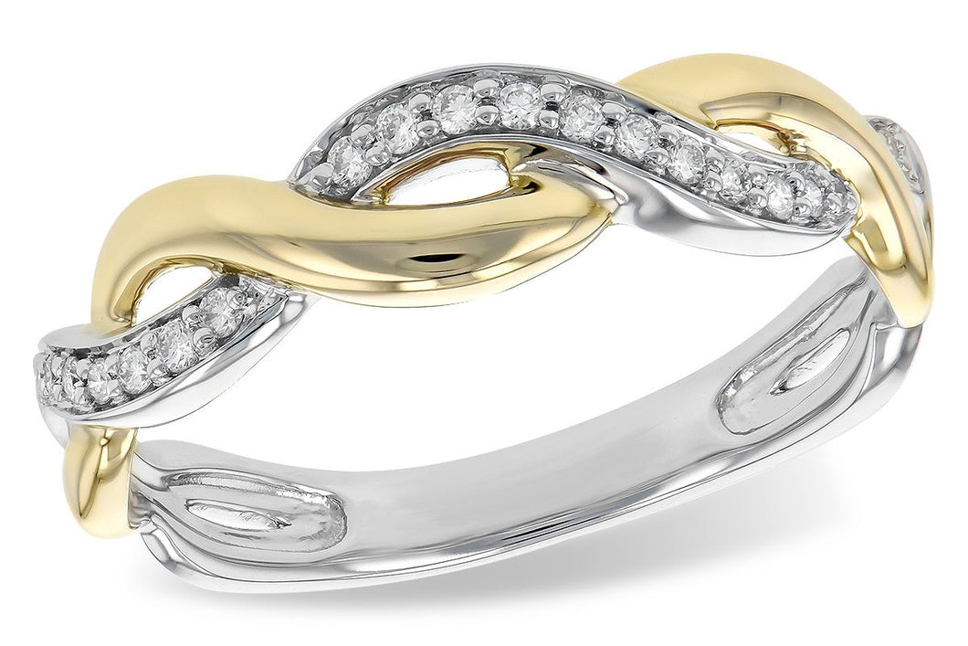 14KT Gold Ladies Wedding Ring - A211-44401_TR