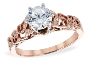14KT Gold Semi-Mount Engagement Ring - A217-73474_P