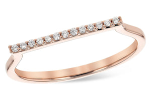 14KT Gold Ladies Diamond Ring - A300-48974_P