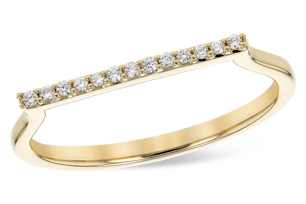 14KT Gold Ladies Diamond Ring - A300-48974_Y
