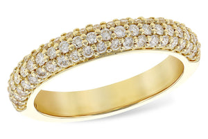 14KT Gold Ladies Wedding Ring - A300-49856_Y