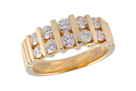 14KT Gold Ladies Wedding Ring - B119-63483_Y