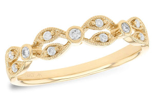 14KT Gold Ladies Wedding Ring - B211-44392_Y