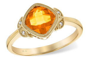 14KT Gold Ladies Diamond Ring - B211-44438_Y