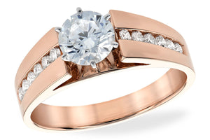 14KT Gold Semi-Mount Engagement Ring - B213-26201_P