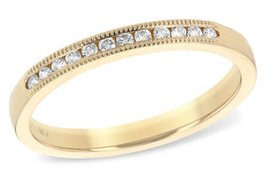 14KT Gold Ladies Wedding Ring - B215-99856_Y