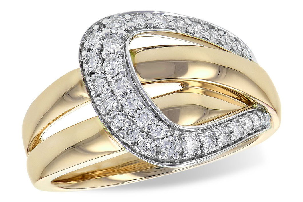 14KT Gold Ladies Diamond Ring - B217-79865_Y