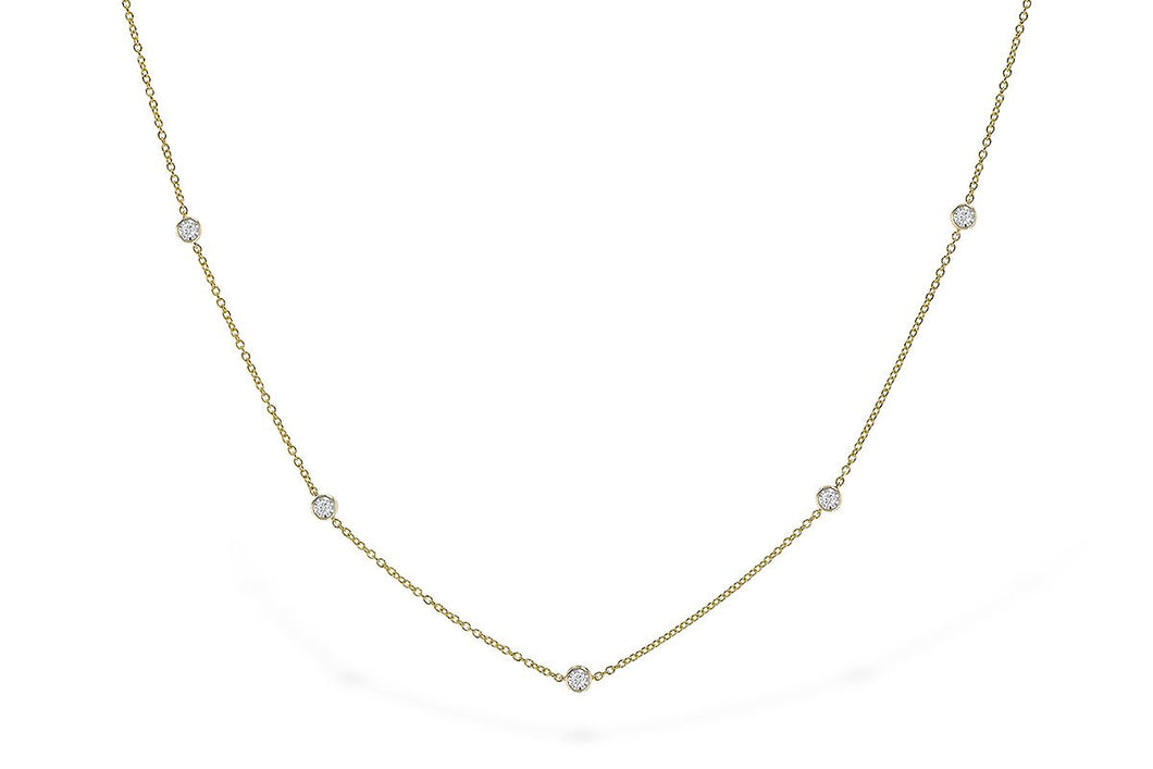 14KT Gold Necklace - B300-48974_Y