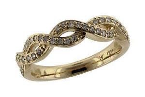 14KT Gold Ladies Wedding Ring - C120-47165_Y