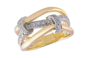 14KT Gold Ladies Wedding Ring - C211-44374_T