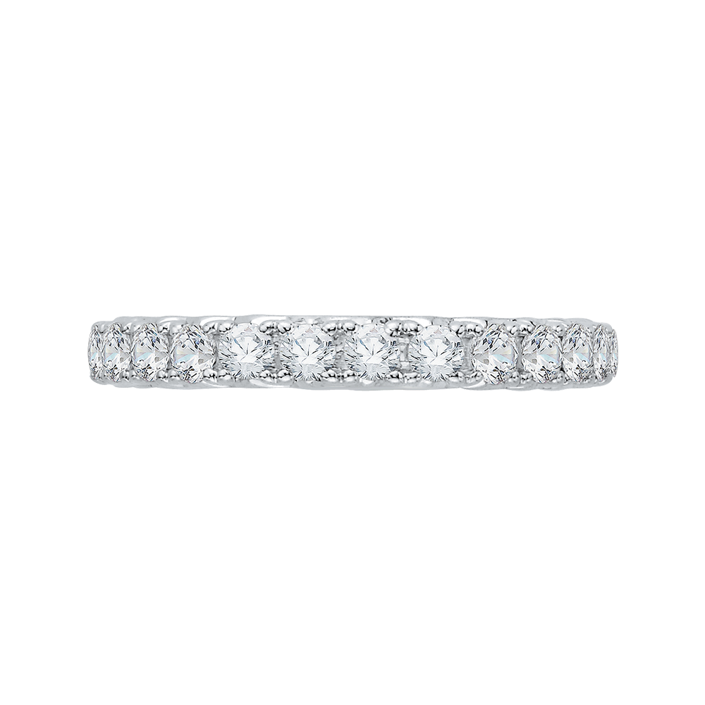 CA0070B-37W Bridal Jewelry Carizza White Gold Diamond Wedding Bands