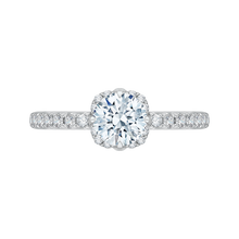 Load image into Gallery viewer, CA0118E-37WY Bridal Jewelry Carizza White Gold Rose Gold Yellow Gold Round Diamond Engagement Rings