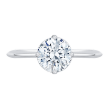 Load image into Gallery viewer, CA0138E-37W-1.50 Bridal Jewelry Carizza White Gold Round Diamond Engagement Rings