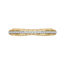 Load image into Gallery viewer, CA0203B-37WY-1.50 Bridal Jewelry Carizza White Gold Rose Gold Yellow Gold Round Diamond Wedding Bands