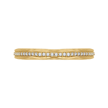 Load image into Gallery viewer, CA0216B-37-1.50 Bridal Jewelry Carizza Yellow Gold Round Diamond Wedding Bands