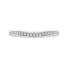 Load image into Gallery viewer, CA0225BH-37W-1.50 Bridal Jewelry Carizza White Gold Round Diamond Wedding Bands