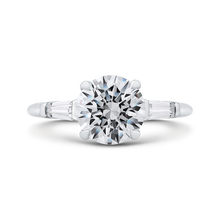 Load image into Gallery viewer, CA0251E-37W-2.00 Bridal Jewelry Carizza White Gold Round Diamond Engagement Rings