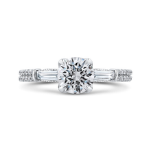 Load image into Gallery viewer, CA0256EH-37W-1.00 Bridal Jewelry Carizza White Gold Round Diamond Engagement Rings