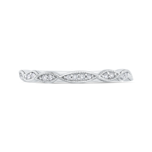 Load image into Gallery viewer, CA0259BH-37W-1.00 Bridal Jewelry Carizza White Gold Round Diamond Wedding Bands