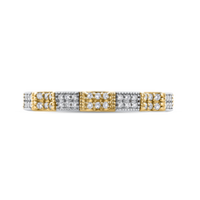 Load image into Gallery viewer, CA0264BQ-37WY-1.50 Bridal Jewelry Carizza White Gold Rose Gold Yellow Gold Round Diamond Wedding Bands