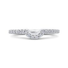 Load image into Gallery viewer, CA0271BH-37W-1.50 Bridal Jewelry Carizza White Gold Round Diamond Wedding Bands