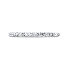 Load image into Gallery viewer, CA0280BH-37W-1.00 Bridal Jewelry Carizza White Gold Round Diamond Wedding Bands