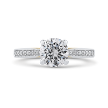 Load image into Gallery viewer, CA0402EH-37WY-1.50 Bridal Jewelry Carizza White Gold Rose Gold Yellow Gold Round Diamond Engagement Rings