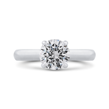 Load image into Gallery viewer, CA0407E-37W-1.50 Bridal Jewelry Carizza White Gold Round Diamond Engagement Rings